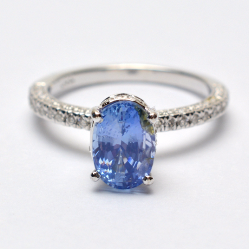download 6 500x500 - Blue sapphire engagement ring, untreated sapphire in a white gold diamonds ring SKU- JOANNA 2519